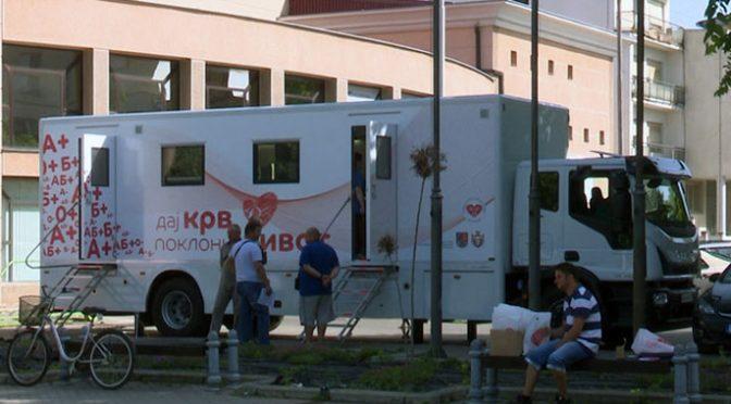 Transfuziomobil na Trgu u Vrbasu ponovo u četvrtak, 18. jula