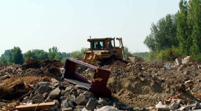 Sanirano smetlište građevinskog otpada u Starom Vrbasu