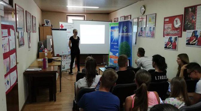 Eko-školica o značaju zdrave ishrane i fizičke aktivnosti u Crvenom krstu Vrbasa