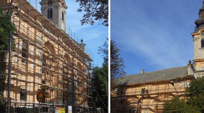 Počela sanacija Evangeličke crkve u centru grada