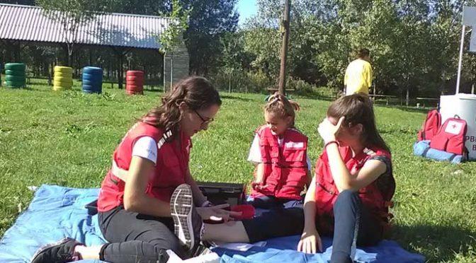 Volonteri Crvenog krsta Vrbasa obeležili Svetski dan prve pomoći