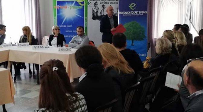 """Sastanak Fokus grupe u Vrbasu – """"Za čist kanal, bez otpadnih voda"""""""