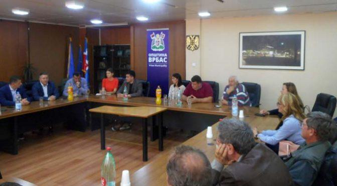 Jačanje saradnje – Pomoćnik ministra poljoprivrede Bogićević u Vrbasu