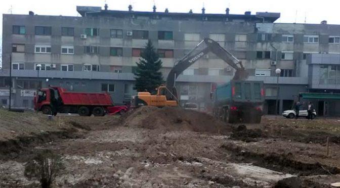 Izgradnja parking zone u Bloku 44 u Vrbasu – 63 nova parking mesta
