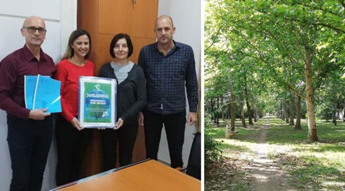 Inicijativa Ekološkog pokreta Vrbasa – Elaborat trim staze u Lazinom parku