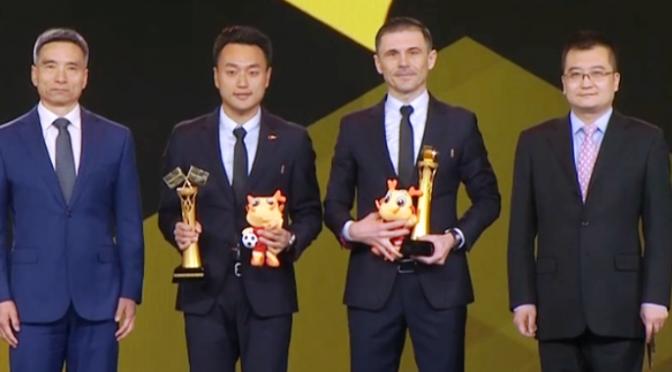 Milorad Mažić proglašen za najboljeg arbitra u Kini za 2019. godinu