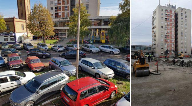 Manjak parkinga u Vrbasu sve primetniji – Mogu li i infrastruktura i zelenilo?