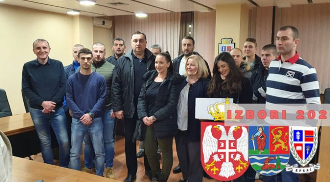 SRS predala listu za učešće na lokalnim izborima u opštini Vrbas