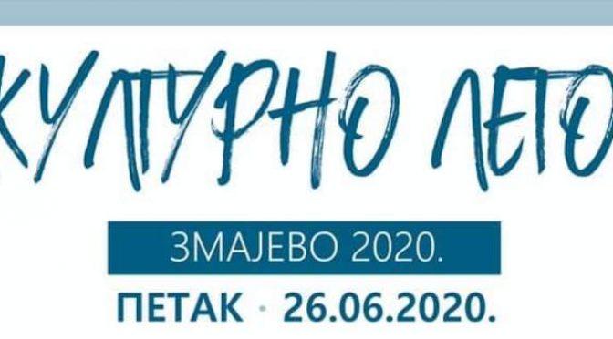 """Zmajevo u petak priređuje još jedno """"Kulturno leto"""""""