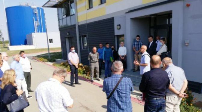 Obilazak postrojenja i konsultacije na temu prečišćavanja otpadnih voda