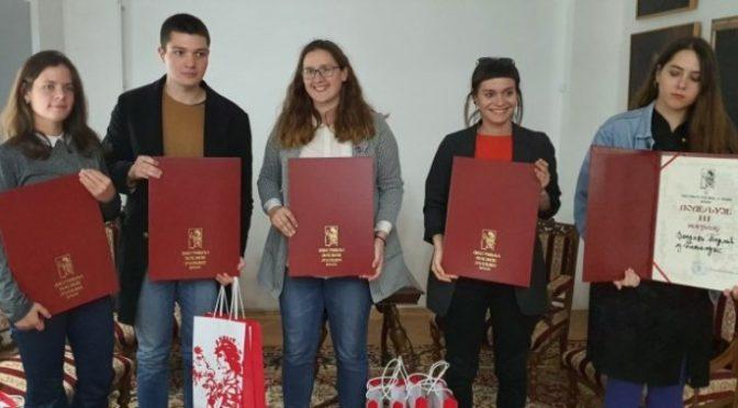 Dodeljene nagrade Festivala poezije mladih i Palete mladih