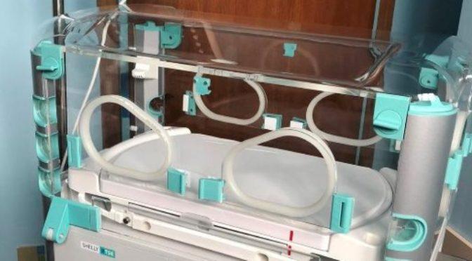 Novi inkubator za lečenje novorođenčadi Dečijem odeljenju OBV