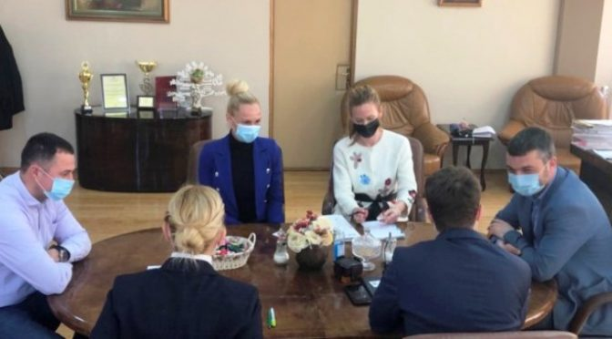 """Direktor Fonda """"Evropski poslovi"""" AP Vojvodine u poseti Vrbasu"""