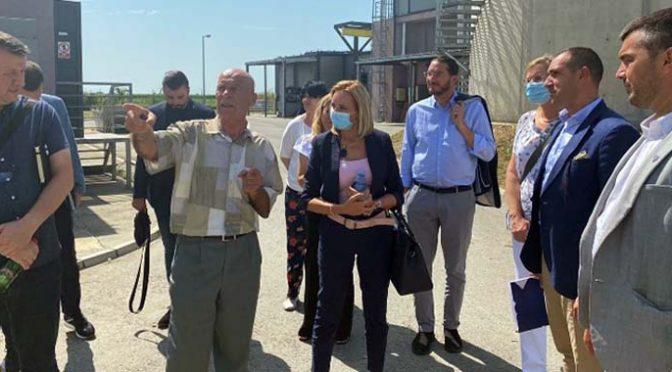 Sa delegacijom EU o unapređenju rada Prečistača Vrbas-Kula