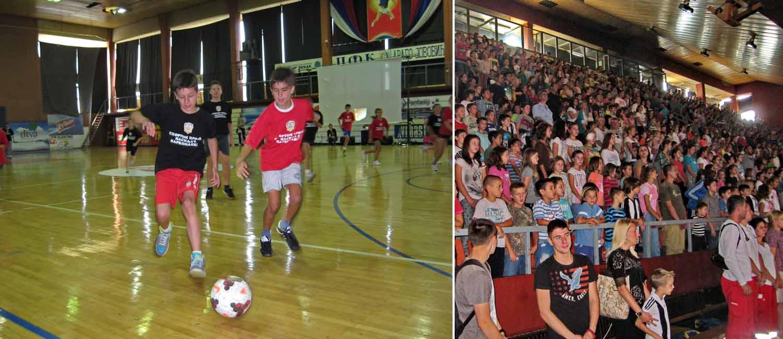 Sportom protiv nasilja i narkomanije