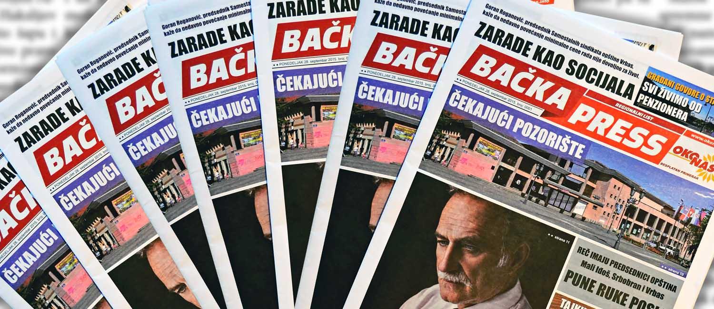 """Regionalni list """"Bačka Press"""""""