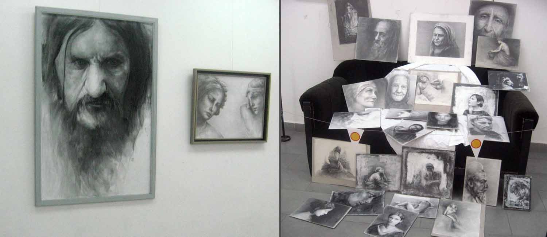 Izložba slika i crteža Žarka Drinčića