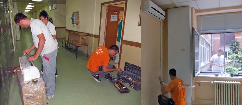 Klima za Službu radiološke dijagnostike u Opštoj bolnici Vrbas