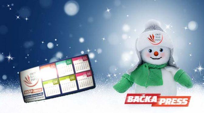Poklon kalendar za 2018. godinu – novi broj Bačka Press-a