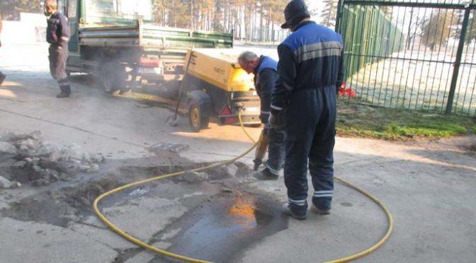 Havarija na toplovodu kod CFК – Obustava grejanja od 11 sati