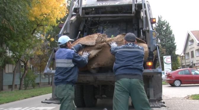 Odnošenje kabastog otpada u naseljenim mestima od 11. do 15. oktobra