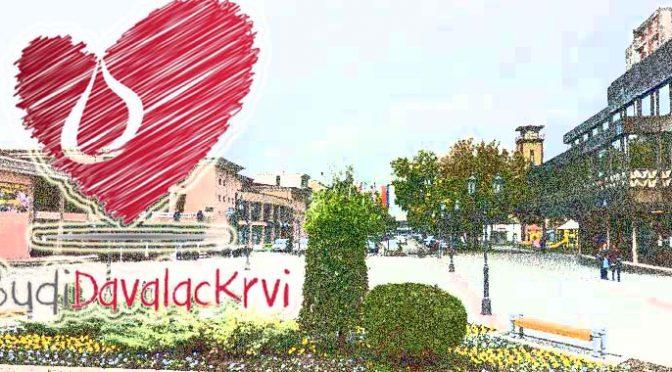 U ponedeljak u Vrbasu akcija dobrovoljnog davanja krvi