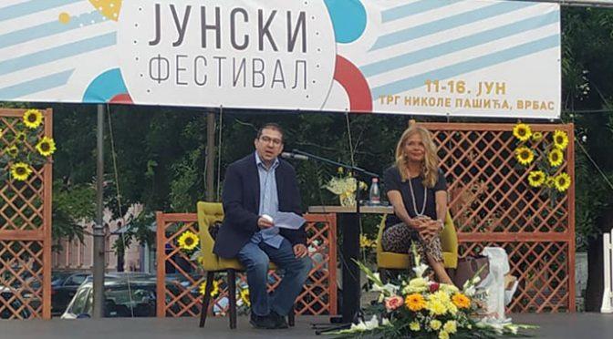 Junski festival – Književni program Mirjane Bobić Mojsilović