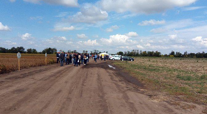 PSS Vrbas organizovala Dan polja na oglednom polju kod Zmajeva