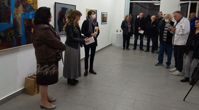Otvoren Jesenji likovni salon Udruženja likovnih umetnika Vrbasa